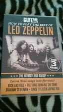 HOW TO PLAY THE BEST OF LED ZEPPELIN GUITAR DVD