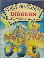 Terry Pratchett Diggers 2 Cassette Audio Book Abridged Nomes 2 Tony Robinson
