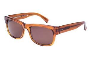 Tres Noir The Upstart Sunglasses - Black & Clear / Amber - Brand New