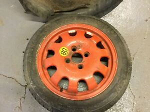 """BMW Mini Cooper One S 16"""" Spare Space Saver Wheel & Tyre R50 R52 R53 R56 Alloy"""