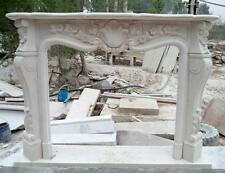 Hand Carved Fireplace Mantel #3818