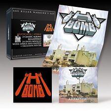 H BOMB - WARRIORS BOX SET - NEW SEALED IMPORT - 2 CDS