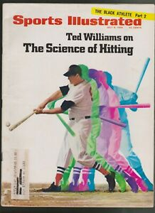 Sports Illustrated July 8,1968 Ted Williams Boston Red Sox + The Black Athlete