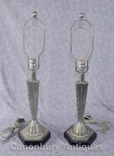 Art Deco Bronze 20th Century Antique Lamps