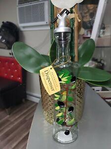 Olive Oil Dispenser Glass Bottle.