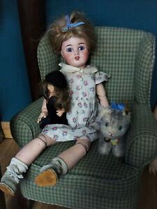 ancienne poupée Limoges taille Bleuette