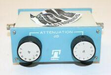 Telonic 8145J Attenuator 0-80 dB, 75 Ohms hs