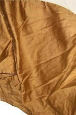 "Ralph Lauren Doncaster Camel Paisley King Bedskirt Brown 15"" Drop EUC"