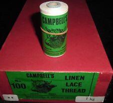 Autentico Vintage Campbells filo di lino irlandese 25 G BOBINA Colore HB