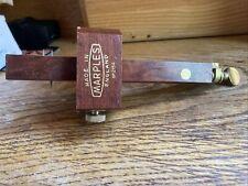 More details for vintage marples 2154 mortice & marking