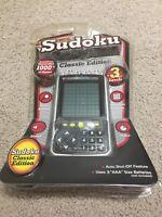 Sudoku Digital Puzzle Handheld Electronic Portable Game Pocket Boxed Working