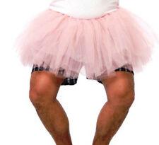 ADULT MENS PINK BALLERINA BALLET TUTU TU TU COSTUMES FUNNY TOOTH FAIRY SKIRT