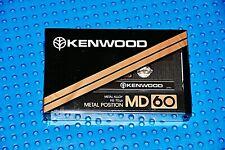 KENWOOD    MD  60   TYPE IV    BLANK CASSETTE TAPE (1) (SEALED)
