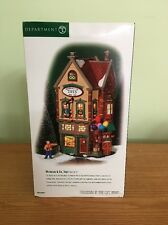 "Department 56 Christmas in the City Series ""Nicholas & Co Toys""Set of 2 #58929"