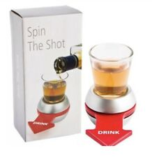 Spin-The-Shot Spinning Shot Glass Drinking Novelty Gift Game Giftable Box