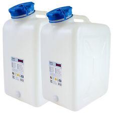2x Weithals-Kanister 31 Liter PRO 2er Set Lebensmittelkanister Wasserkanister L