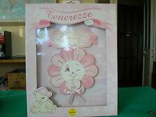 NUOVO - Coccarda Fiocco nascita rosa Mendozzi