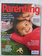Parenting Magazine October 2008 Too Sick For School Simple Ways To Tell