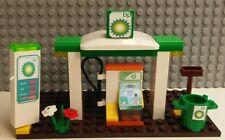 LEGO Custom BP Gas Service Station. Ready To Play