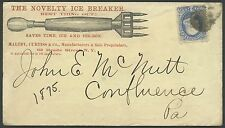 """1¢ BANKNOTE ON ADVT THE NOVELTY ICE BREAKER RARE """"NAIL PULLER"""" COVER VF BS1744"""