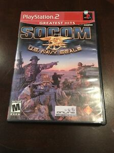 PS2 SOCOM: U.S. Navy SEALs Greatest Hits (Sony PlayStation 2, 2003)