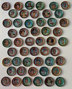 1971 Topps Baseball Coins--Lot of 125--100 Different--19 HOFers--R.Jax, Seaver..