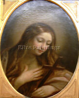 RENI GUIDO MARY MAGDALEN ARTIST PAINTING HANDMADE OIL CANVAS REPRO WALL ART DECO