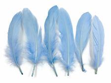 USA SELLER | 1 Pack - Light Blue Goose Satinettes loose feathers 0.3 oz. Craft