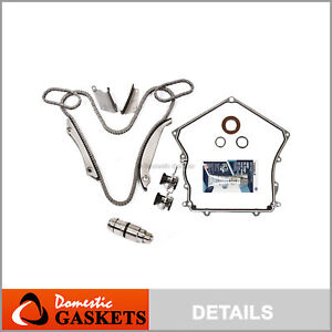 Timing Chain Kit w/o Gears Cover Gasket for 02-06 Dodge Charger Chrysler 2.7L