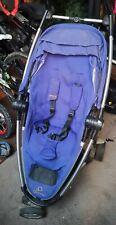 Quinny Zapp Xtra 2.Single Seat Purple Buggy Pushchair Forward/Rear Face Stroller