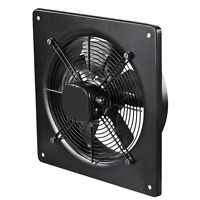 Industrial Extractor Fan with Plate Metal Carbon Axial Commercial Ventilator