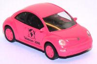 "WIKING 7325 VW NEW BEETLE ""TELEKOM 2000""  colore rosa scala HO 1:87"