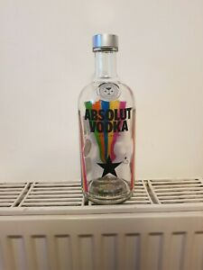 Absolut vodka be at one pam hogg limited edition empty