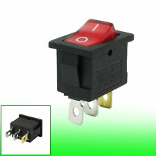Red Light Illuminated 3 Pins Spst Onoff Snap In Boat Rocker Switch