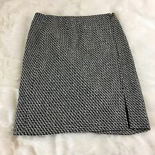 NEW Talbots Collection Petites Women's Size 12P Zip Up Pencil Skirt Wool