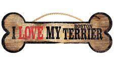 Boston Terrier Sign – I Love My Bone 3×10