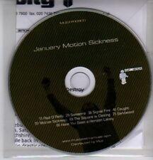 (DE704) January, Motion Sickness - 2004 DJ CD