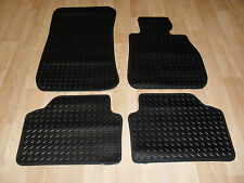 BMW 1 Series E82 Coupe 2007-on Fully Tailored RUBBER Car Mats Black.