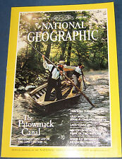 NATIONAL GEOGRAPHIC JUNE 1987 PATOWMACK CANAL;TORNADOES;GRAY WHALES;LAOS;GLACIER