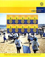 2005 Rotary International 100 Years - Sheetlet Pack