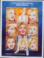 Marilyn Monroe - stamp sheet - St. Vincent & The Grenadines 1