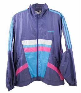 Adidas Vintage Retro Tracksuit Jacket   Large