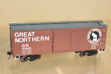 ALL NATION VINTAGE KIT BUILT WOOD O SCALE GREAT NORTHERN GN BOXCAR WAGON 53825 n