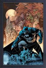 BATMAN VS VILLAINS 13x19 FRAMED GELCOAT DC COMICS BRUCE WAYNE ROBIN JOKER GOTHAM