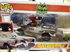 FUNKO pop batman batmobile chrome 1966 Adam West nycc comic con toy tokyo LE
