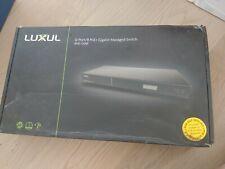 Luxul Ams-1208P 12 Port/8 PoE+ Gigabit Managed Switch