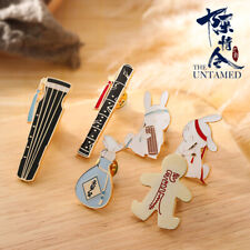 The Untamed Wuxian Wangji Metal Badge Grandmaster of Demonic Cultivation Badges