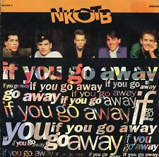 "NEW KIDS ON THE BLOCK - IF YOU GO AWAY - PS - 90's - 7"" VINYL"