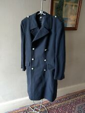 VINTAGE UNIFORMWERK GERMAN MILITARY MENS STUNNING TRENCH OVER COAT SIZE S / M 42