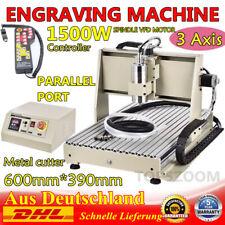 3 Ejes 1.5KW CNC 6040Z Router Engraver Máquinas de fresado Cutter+Controlador ES